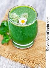 smoothie, grün