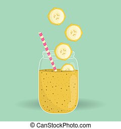 Smoothie icon design , vector illustration - smoothie ...