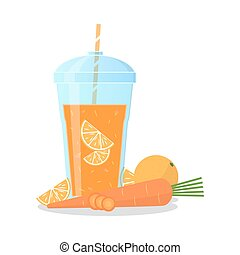 Smoothie icon illustration