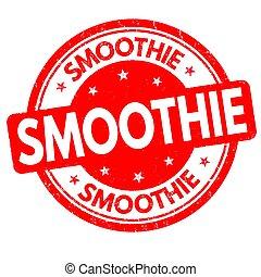 smoothie, signe, ou, timbre