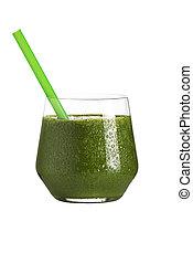 smoothie, verde