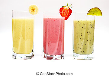 smoothies, 과일