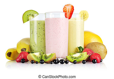 smoothies, fruit