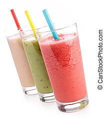 smoothies, isolé