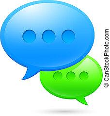 sms, icônes