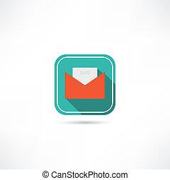 sms, packa in, ikon
