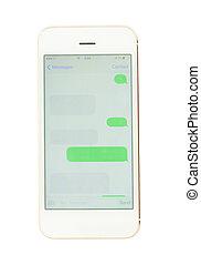 sms, smartphone, skyn