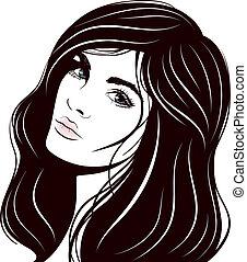 smuk kvinde, zeseed
