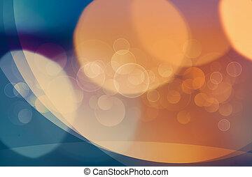 smukke, abstrakt, bokeh, hen, klar, baggrunde, by, din, konstruktion