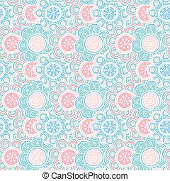 smukke, blive, bruge, illustration., scrap, pattern.,...