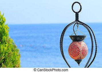smukke, kemer, lanterne