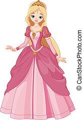 smukke, prinsesse