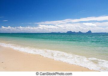 smukke, strand