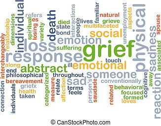 smutek, wordcloud, pojęcie, ilustracja