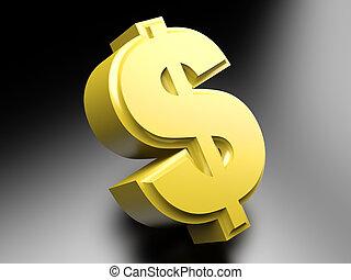 smybol, dollar