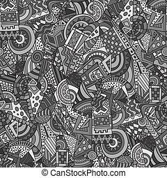 smyckad mönster, geometrisk, abstrakt