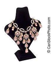 smycken, halsband