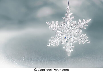 snö flinga, helgdag, bakgrund