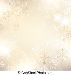 snöflinga, bakgrund