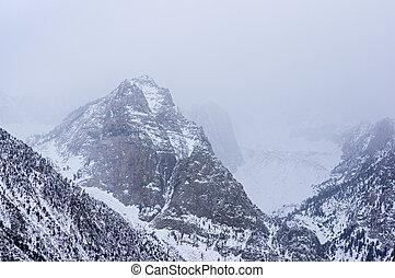 snöig, mountains