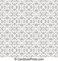 snørebånd, mønster, hos, hvid, forme, ind, kunst deco, firmanavnet