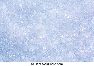 sněžit, tkanivo
