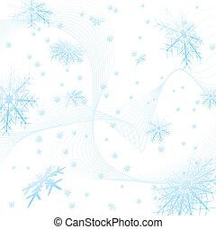 sněhová vločka, čtverec