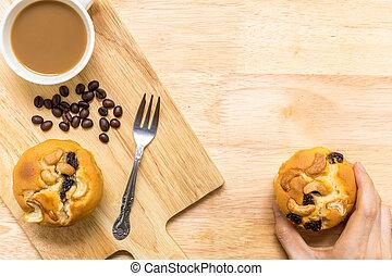 Snack for Coffee Break / Snack for Coffee Break Background