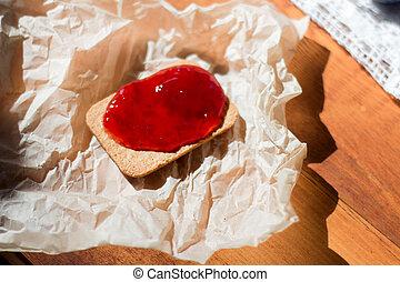 snack., kekse, gelee