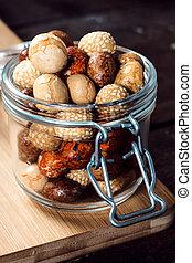 Snacks in the jar
