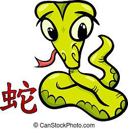 snake chinese zodiac horoscope sign