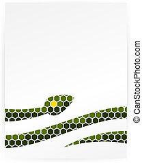 Snake design template