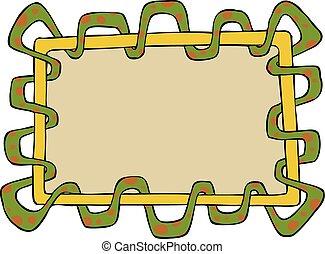 Snake frame