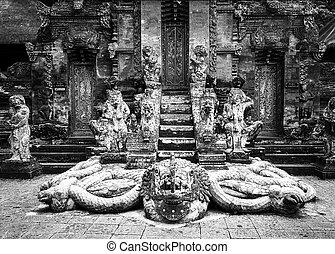Snake God Naga in Hindu Temple