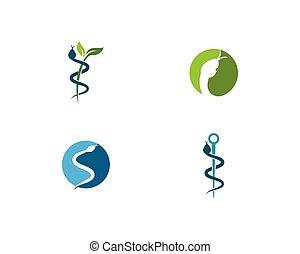 Snake logo vector