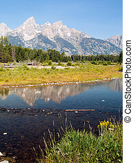 Snake River and Teton Range