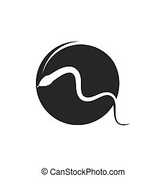 snake vector illustration icon
