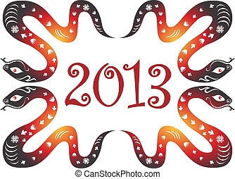 Snake year 2013.