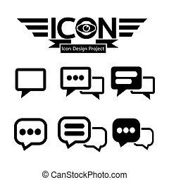 snakke, ikon