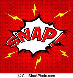snap!, スピーチ, 漫画, 泡