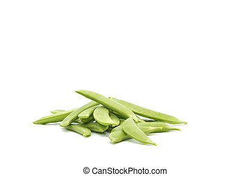 Snap Peas Whole Raw - Fresh snap peas in the pod ...