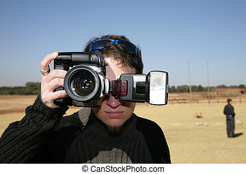 Snap Shot! - One handed cameraman
