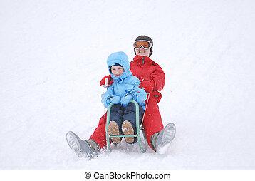 sne, idræt
