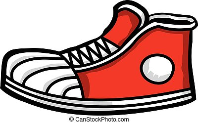 Sneaker cartoon icon