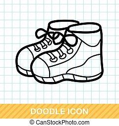sneaker color doodle