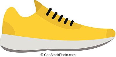 Sneakers icon vector flat