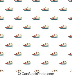 Sneakers pattern seamless