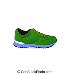 Sneakers. Sport shoes. Shoes for running.