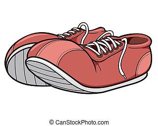 Sneakers - Vector illustration of sneakers