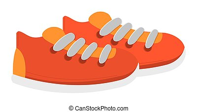 sneakers with laces icon